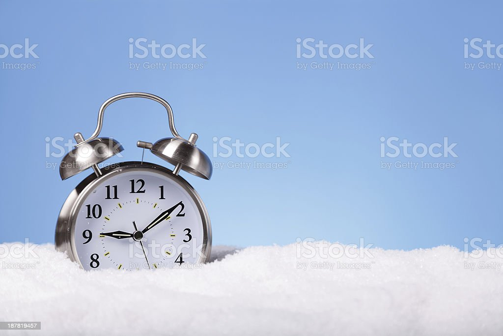 Winter Time royalty-free stock photo