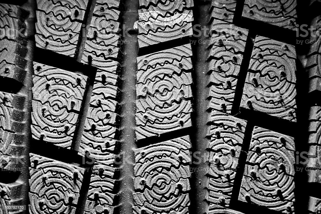 Winter tire background royalty-free stock photo