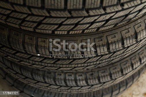 496485590 istock photo Winter Tire 177841121