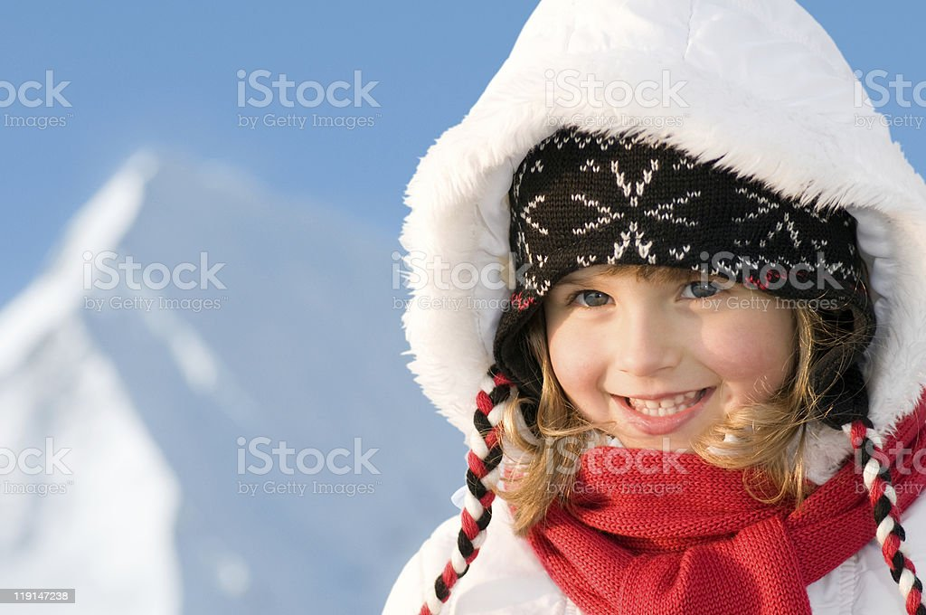Winter vacation royalty-free stock photo