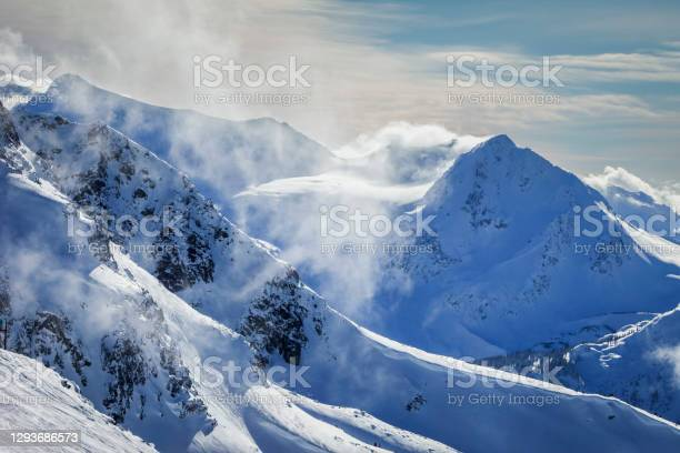 Photo of Winter views in Whistler backcountry.