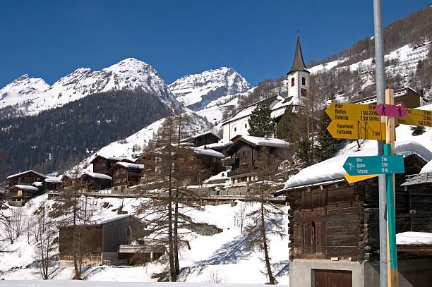 Winter-Dorf – Foto