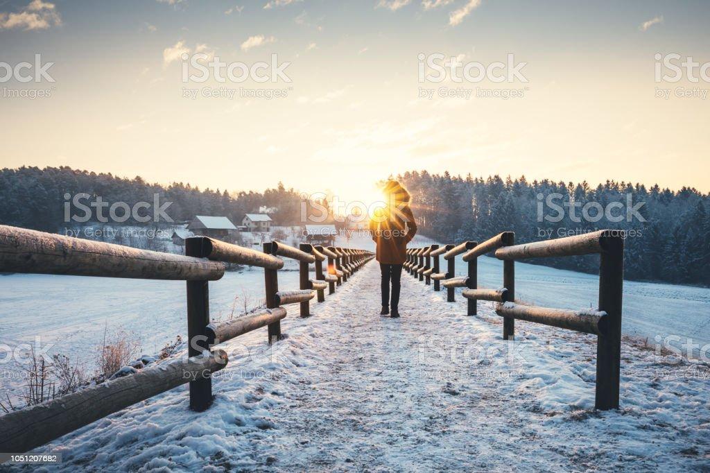Winterspaziergang – Foto