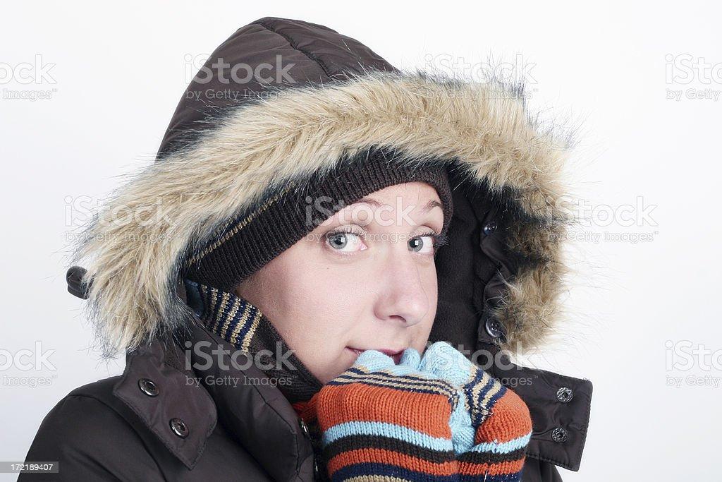 Winter  warmth! royalty-free stock photo