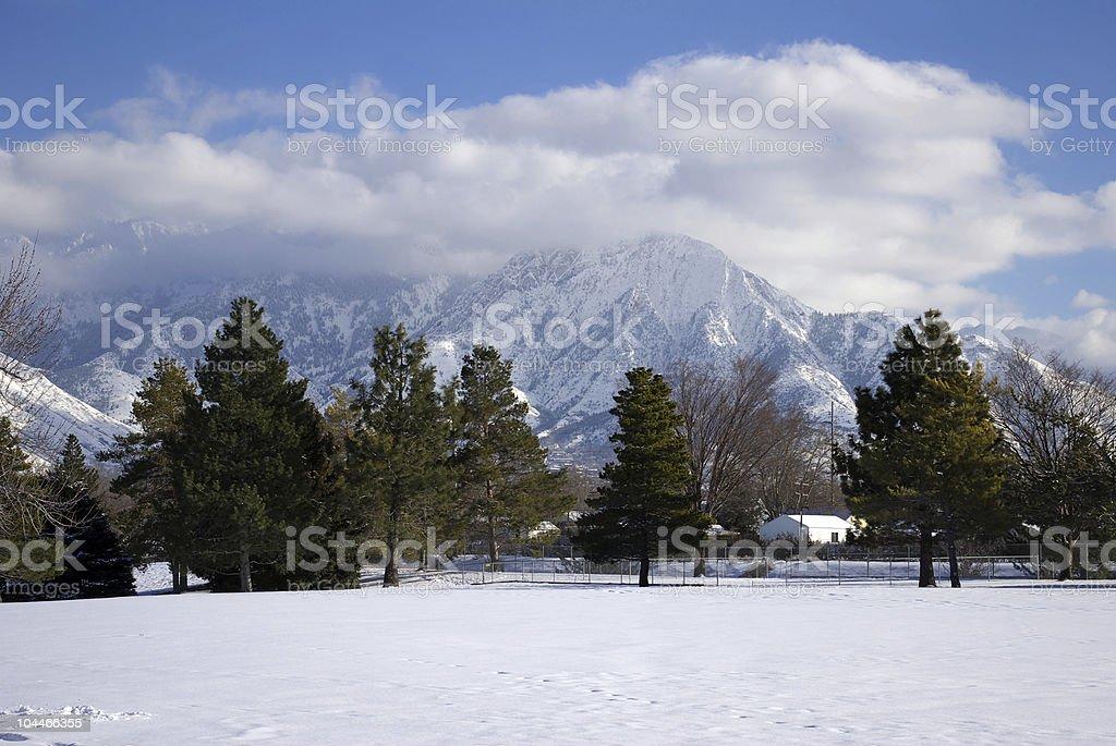 Wasatch Berge Winter – Foto