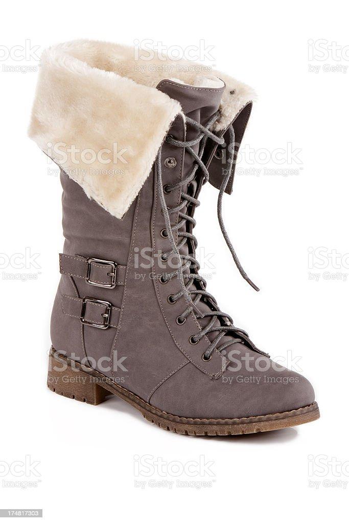 Winter woman boots XXXL stock photo
