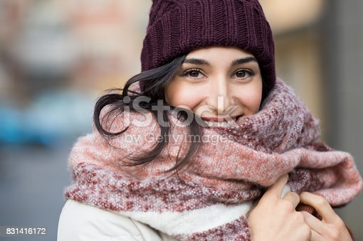 istock Winter woman outdoor 831416172