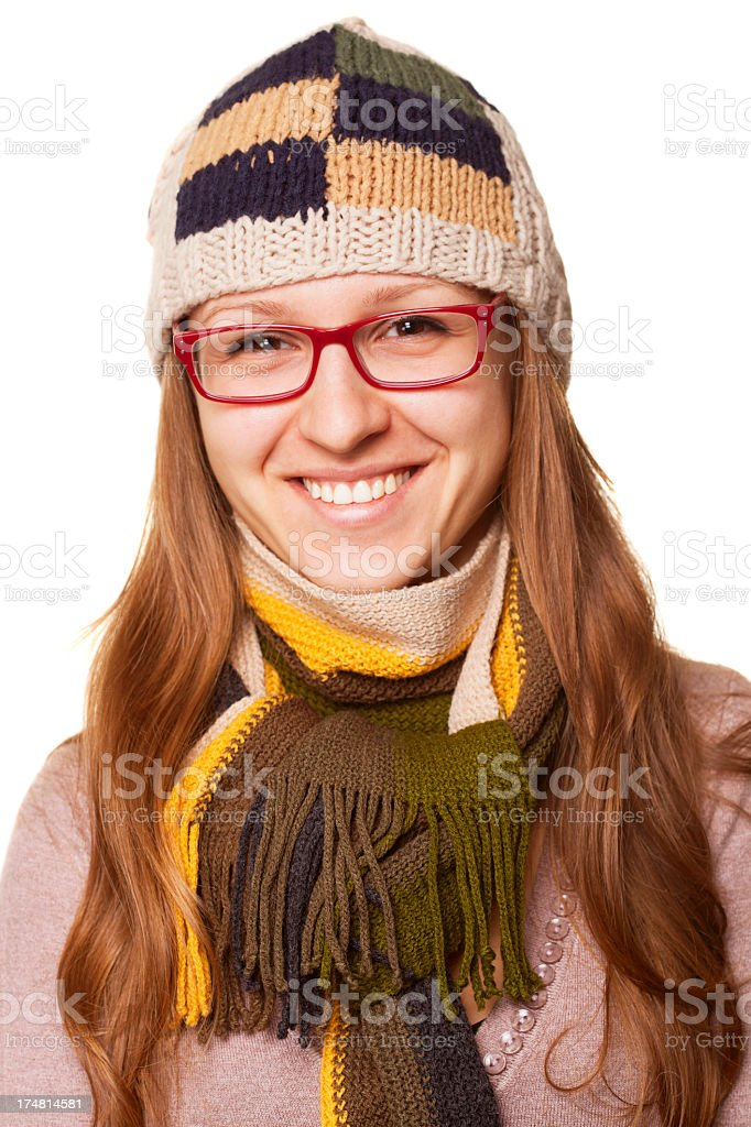Winter Woman royalty-free stock photo