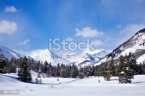 The peaks around Crested Butte, Colorado are covered in snow!