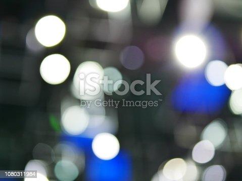 847752786 istock photo Winter xmas holiday lights background. 1080311984