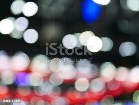 847752786 istock photo Winter xmas holiday lights background. 1080311994