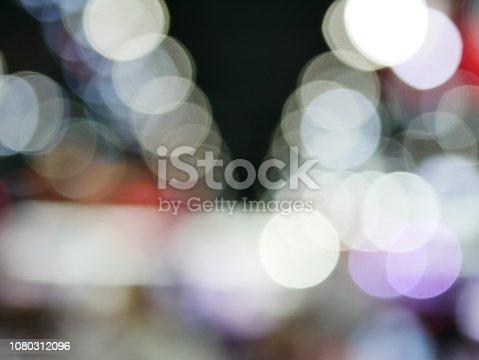 847752786 istock photo Winter xmas holiday lights background. 1080312096