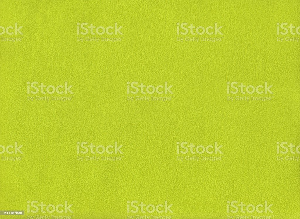 Winter yellow green fabric texture for background stock photo