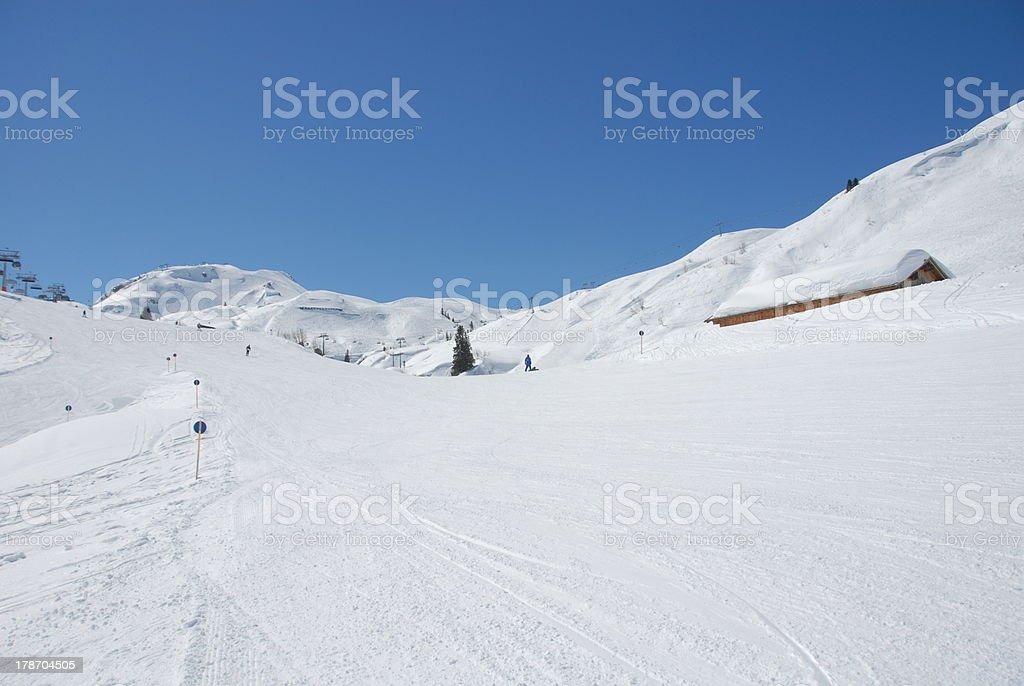 Winterlandscape stock photo