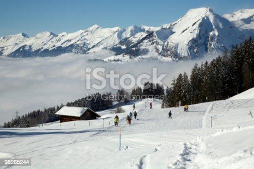 Winterlandschaft Stock Photo & More Pictures of Bernese Oberland