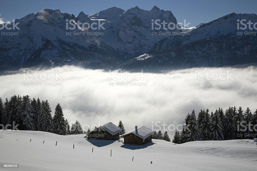 Winterlandschaft royalty-free 스톡 사진