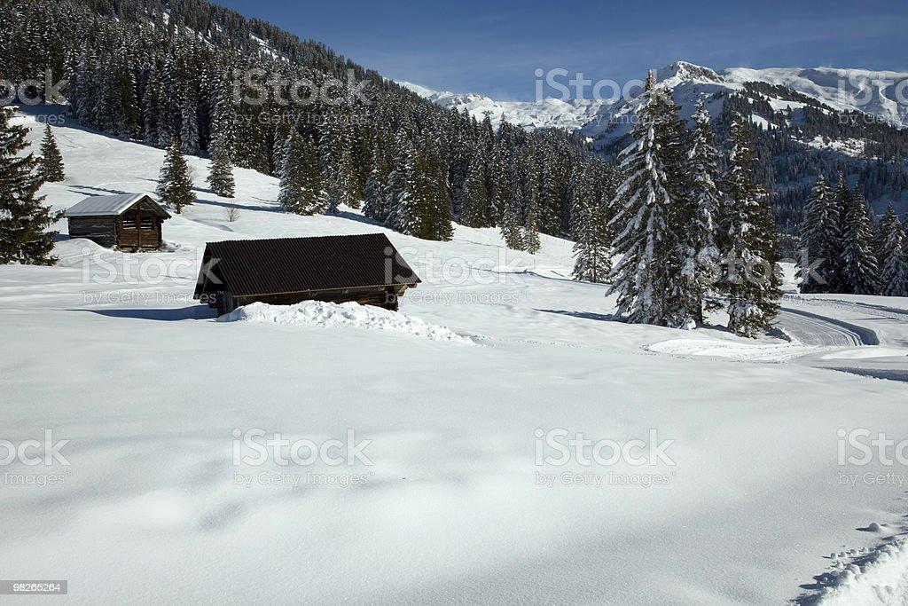 Winterlandschaft royalty-free stock photo