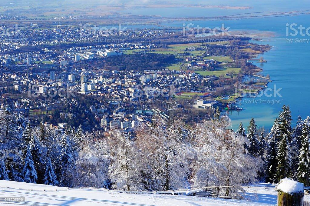 Winterliche Bodensee – Foto