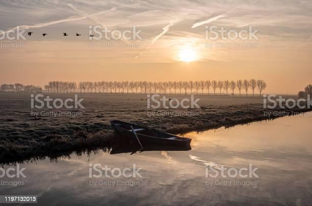 Photo of Winterochtend in de polder