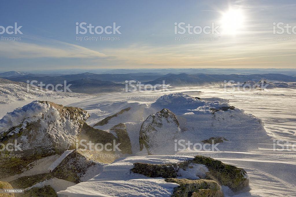 Winterpark stock photo