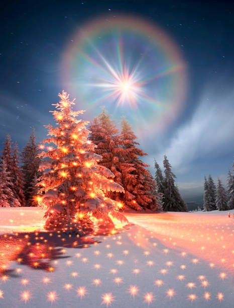 Winter's Tale stock photo