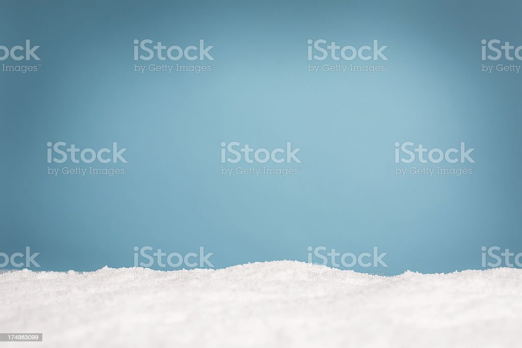 Wintery Background With Copy Space stock photo