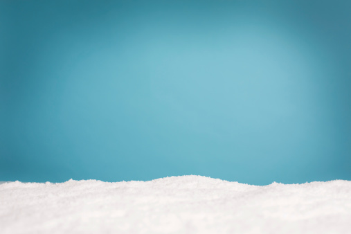 Wintery Background With Copy Space Stock Photo - Download Image Now
