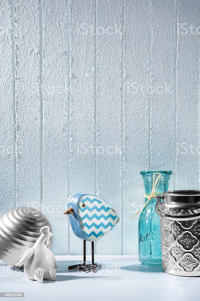 Wintery vintage theme stock photo