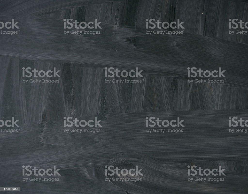 Wiped Clean Blackboard royalty-free stock photo