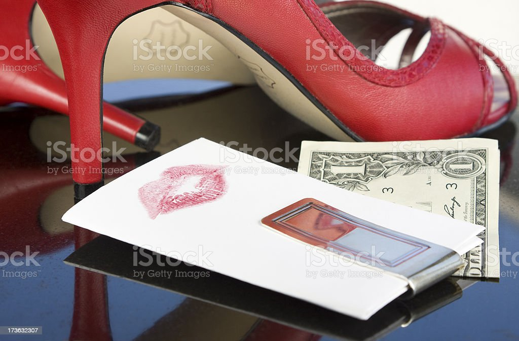 Wiped Out stock photo