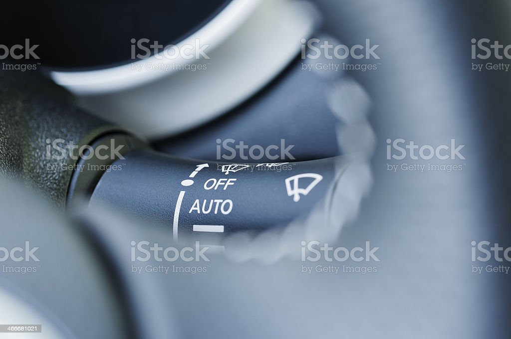 wiper switch royalty-free stock photo