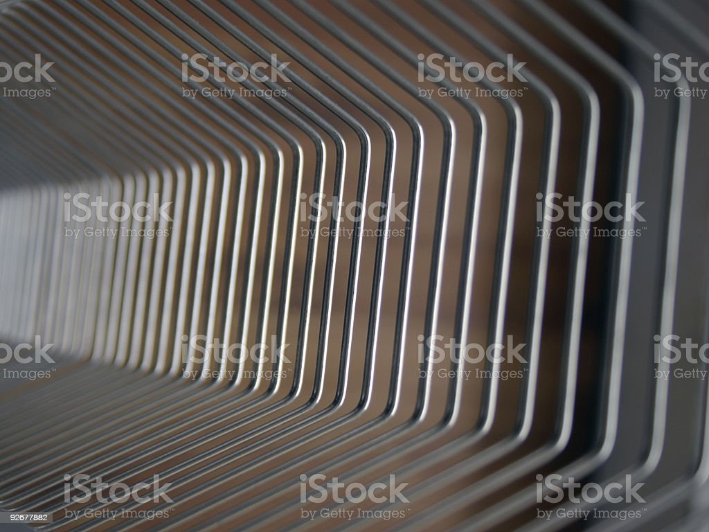 Wire array background royalty-free stock photo