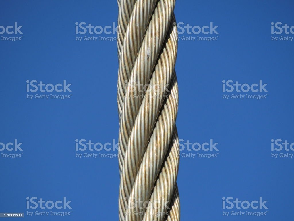 wire cable stock photo