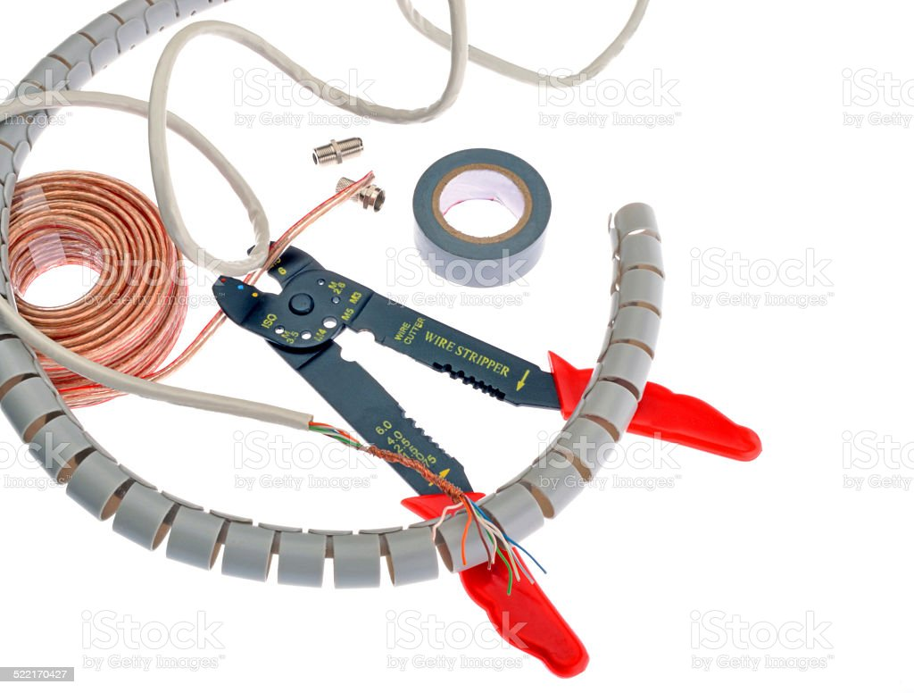 wire cutter stock photo