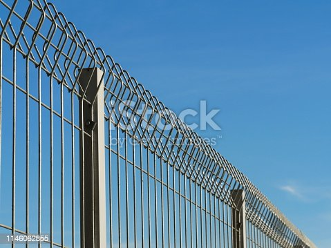 Fence, Chain - Object, Metal, Iron - Metal, Chrome