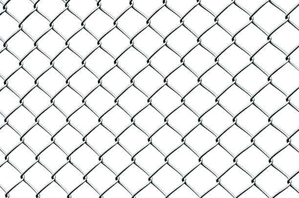 maillage clôture - grillage photos et images de collection
