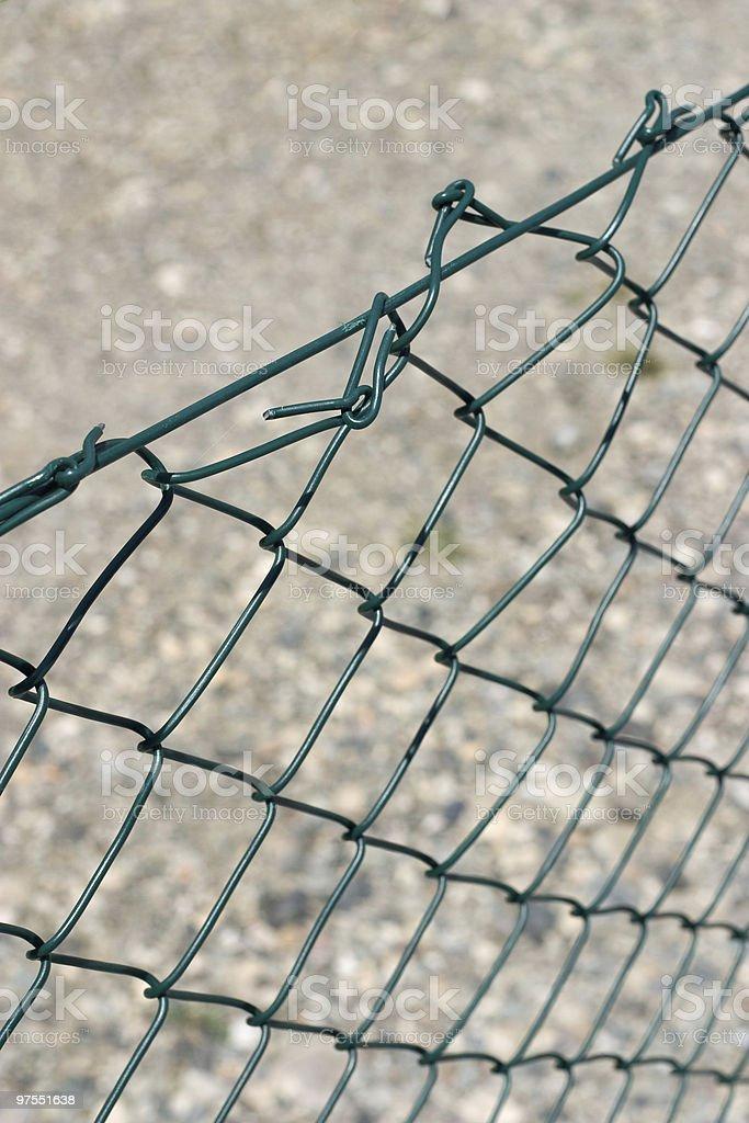 Maillage Clôture photo libre de droits