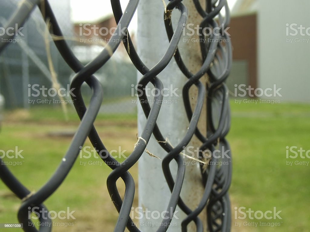 Wire Fence royalty free stockfoto