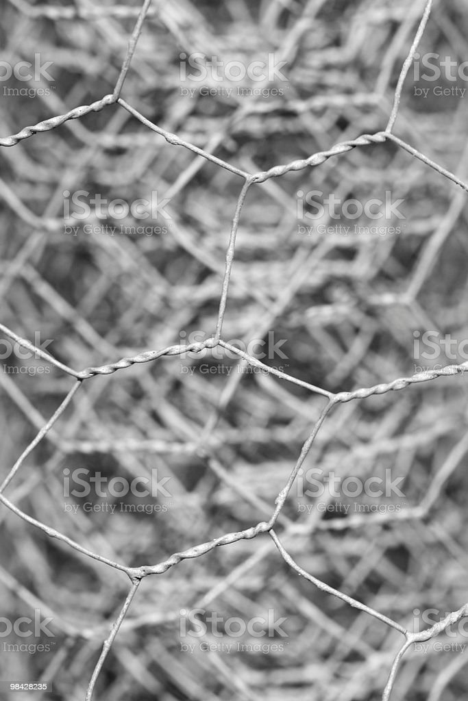 Wire Fencing royalty-free stock photo