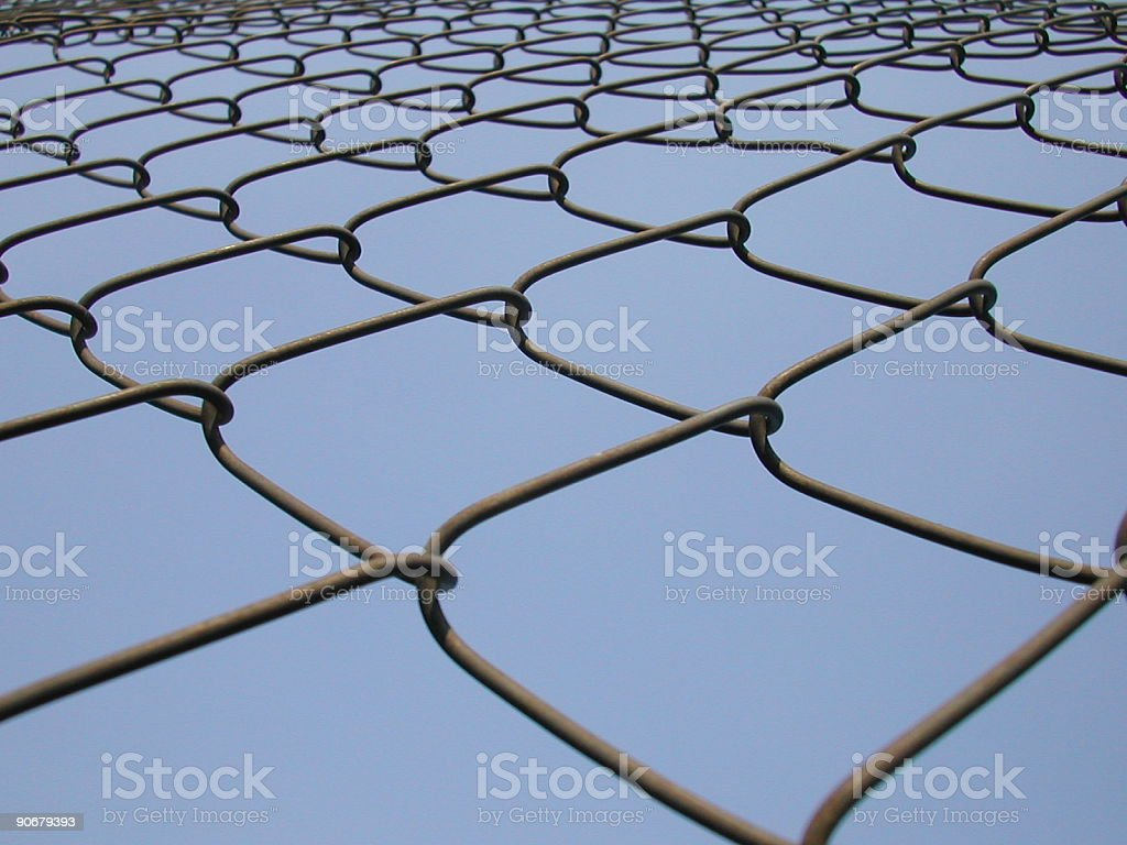 wire frame net royalty-free stock photo