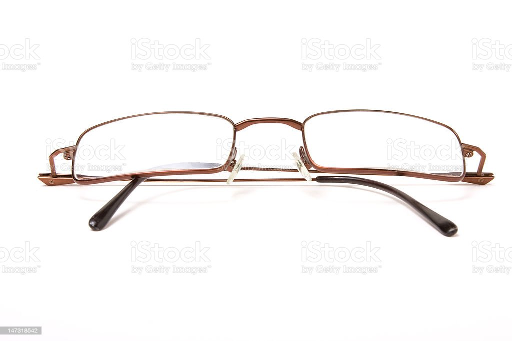 Wire Framed Specs stock photo