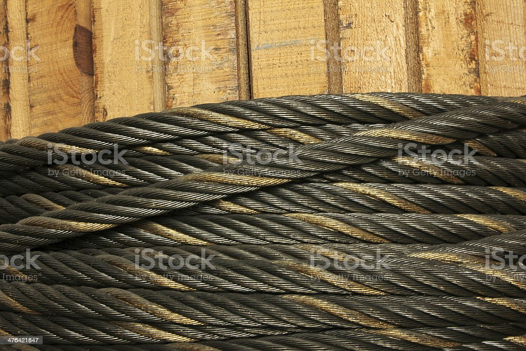 Wire Hawser royalty-free stock photo