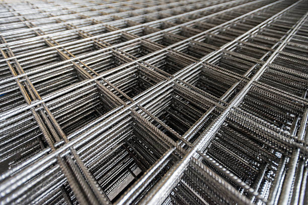 Wire mesh for Construction job. Wire mesh for Construction job. rod stock pictures, royalty-free photos & images
