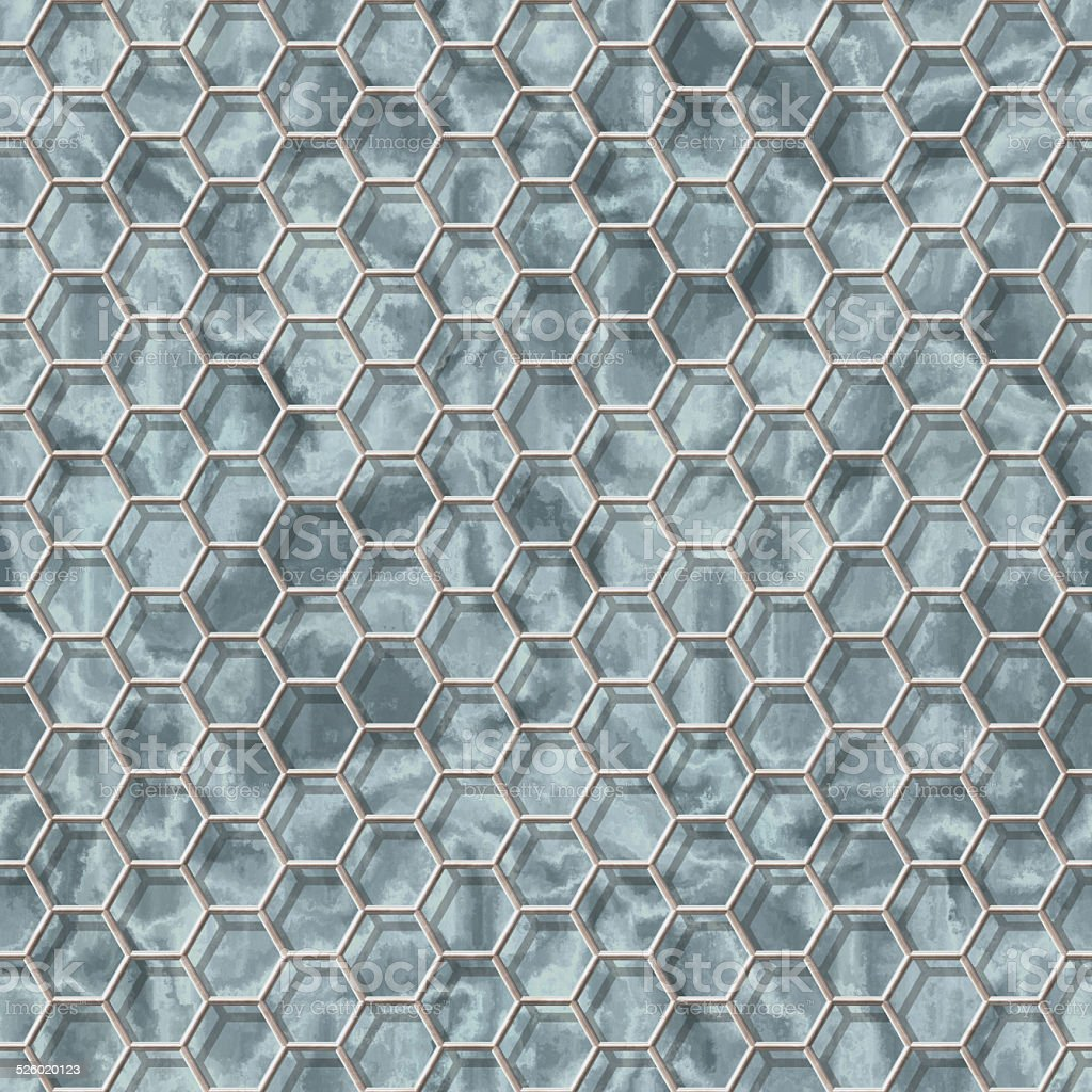 Wire mesh marble seamless generated hires texture stock photo
