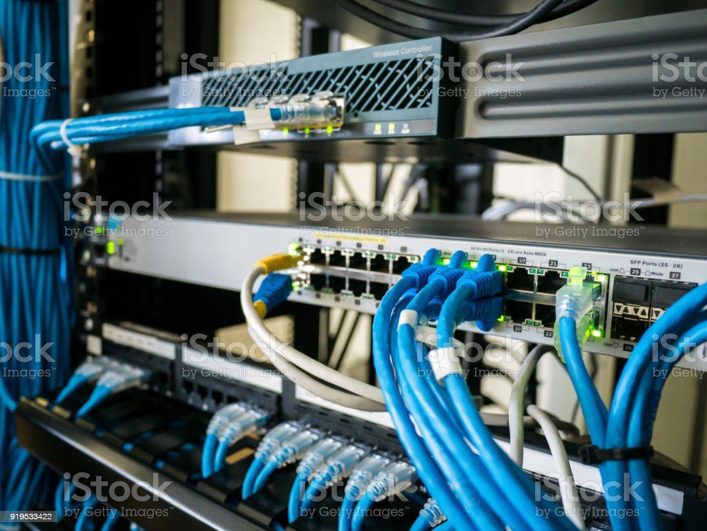royalty free ethernet switch pictures images and stock photos istock rh istockphoto com install a network switch wiring a network switch