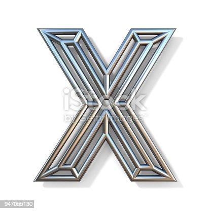 Draht Outline Schrift Buchstaben X 3d Stock-Fotografie und mehr ...
