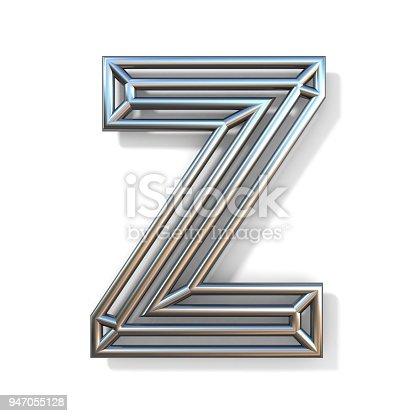 Draht Outline Schrift Buchstaben Z 3d Stock-Fotografie und mehr ...