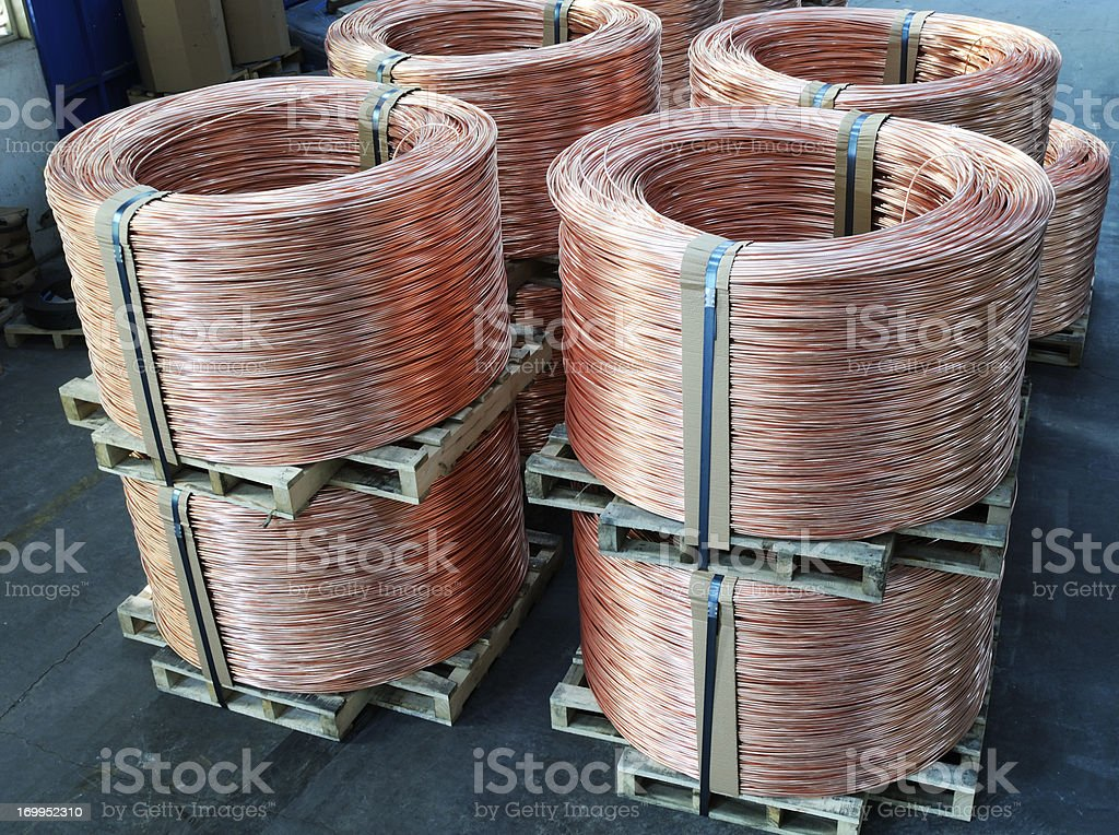 Wire Rod stock photo