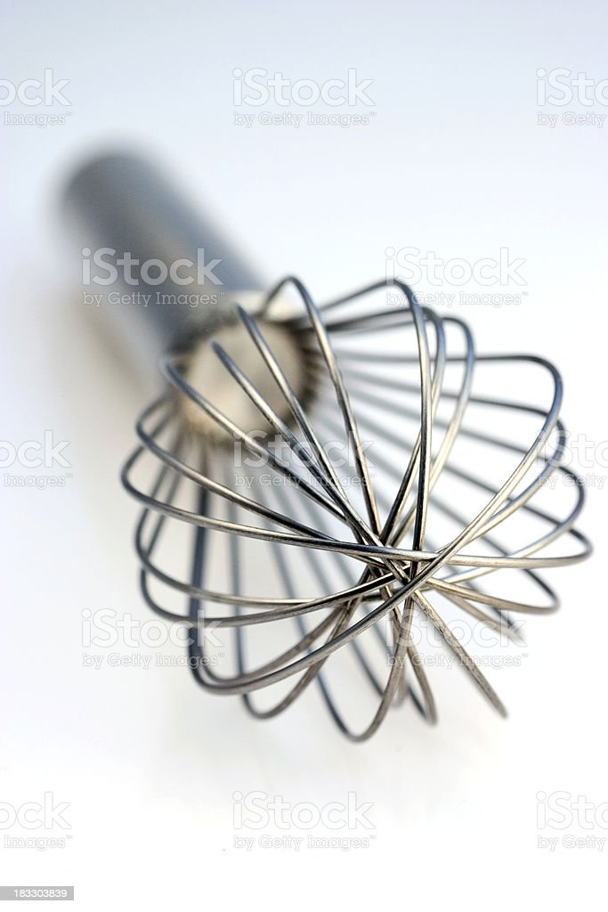Wire Whisk royalty-free stock photo