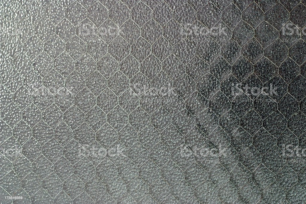 Wired Window royalty-free stock photo